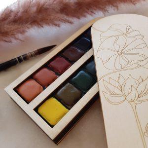 Palette aquarelle Nenuphar